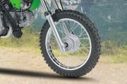 Front Tyre View of KLX 110