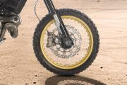 Front Tyre View of Desert Sled