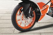 Front Tyre View of RC 200