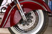 Front Tyre View of Chief Classic