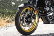 Front Tyre View of V-Strom 650XT