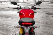 Handle Bar View of Monster 797
