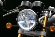 Head Light of Thruxton R