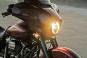 Head Light of Street Glide Special