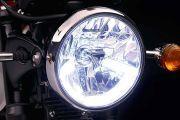 Head Light of Bonneville T120
