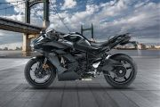 Left Side View of Ninja H2 SX