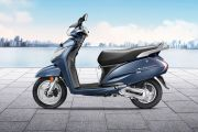 Left Side View of Activa 125