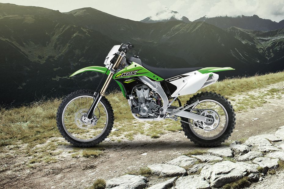 Left Side View of KLX 450R