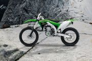 Lest Side View of KX 450F