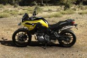 Lest Side View of F 750 GS