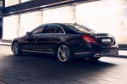 Rear 3/4 left Image of S-Class