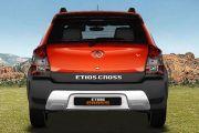 Rear back Image of Etios Cross