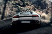 Rear back Image of Huracan