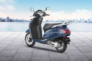 Rear Left View of Activa 125