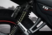 Rear Suspension View of Apache RTR 160