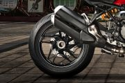 Rear Tyre View of Monster 1200