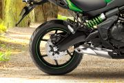 Rear Tyre View of Versys 650