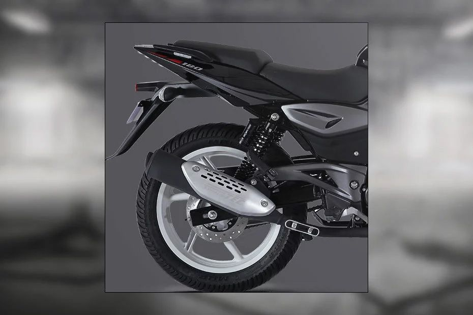 Rear Tyre View of Pulsar 180