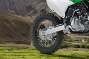 Rear Tyre View of KX 100