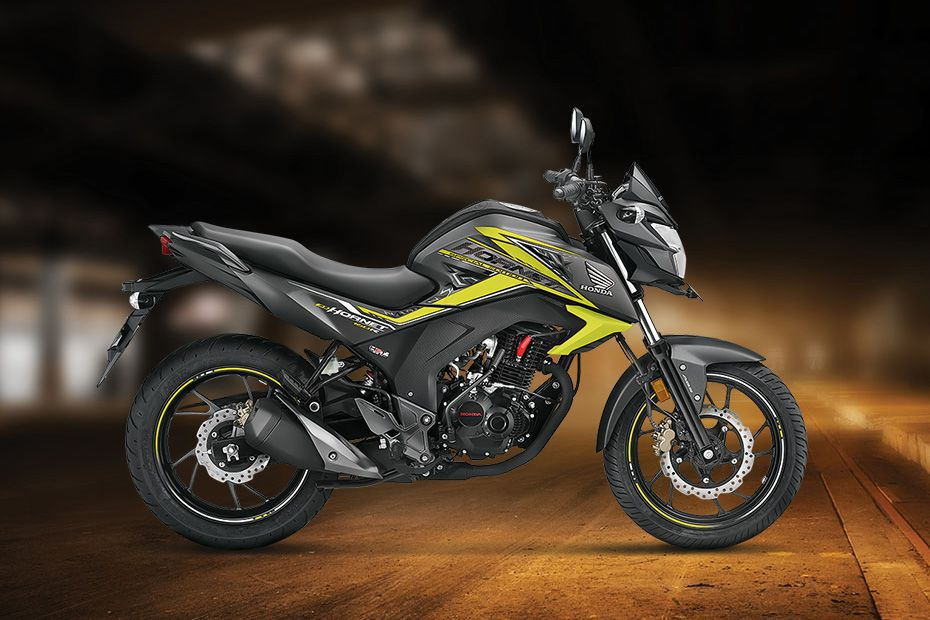 Right Side View of CB Hornet 160R