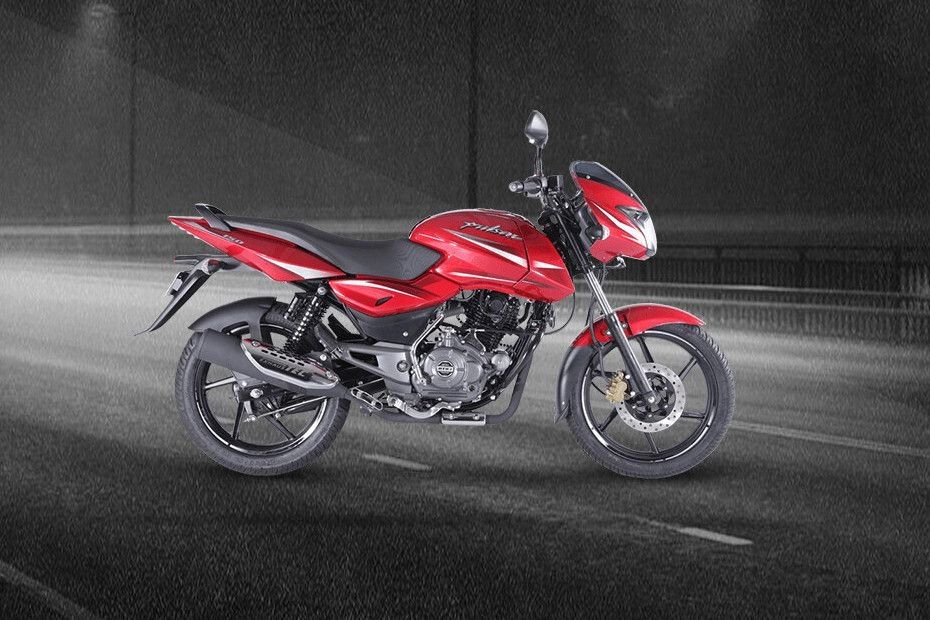 Right Side View of Pulsar 150