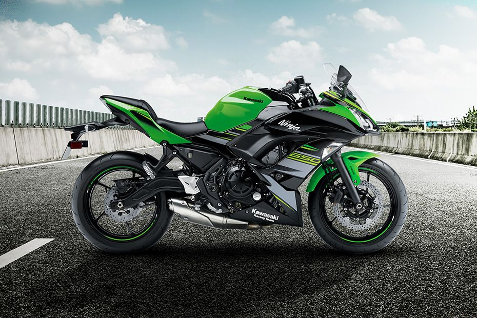 Right Side View of Ninja 650