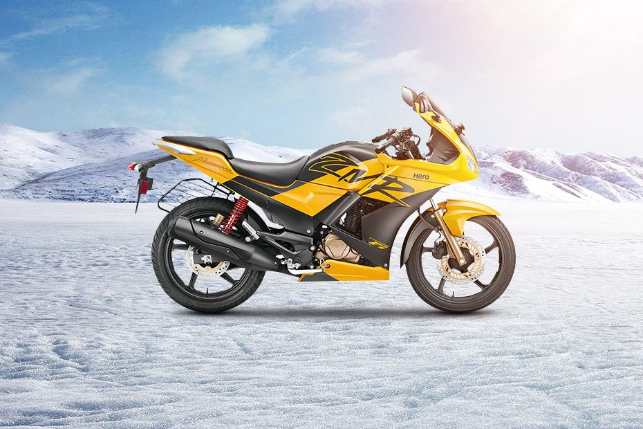 Right Side View of Karizma ZMR