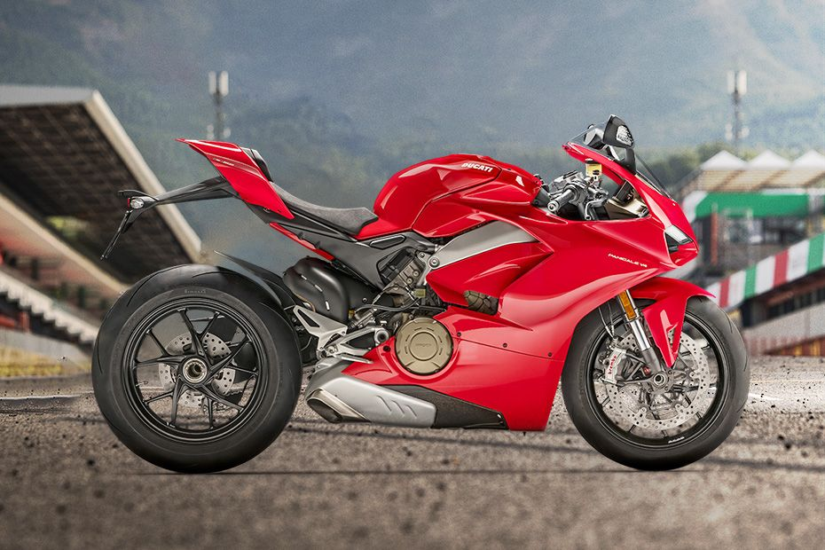 Right Side View of Panigale V4