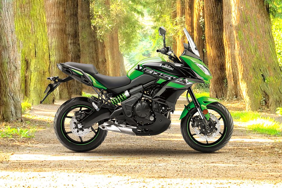 Right Side View of Versys 650
