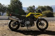 Right Side View of F 750 GS