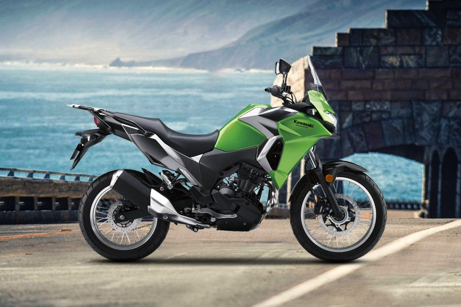 Right Side View of Versys X 300