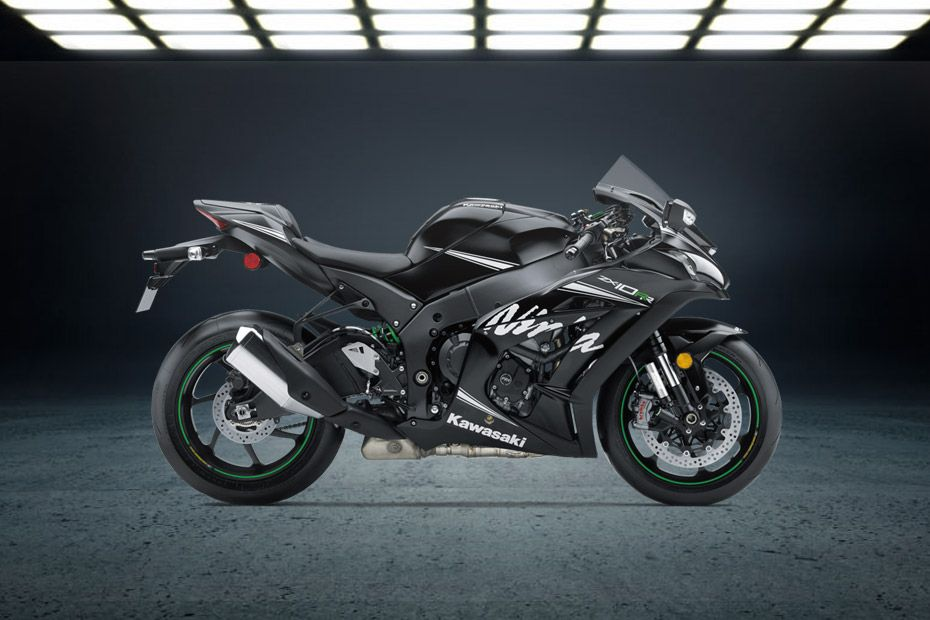 Right Side View of Ninja ZX-10RR