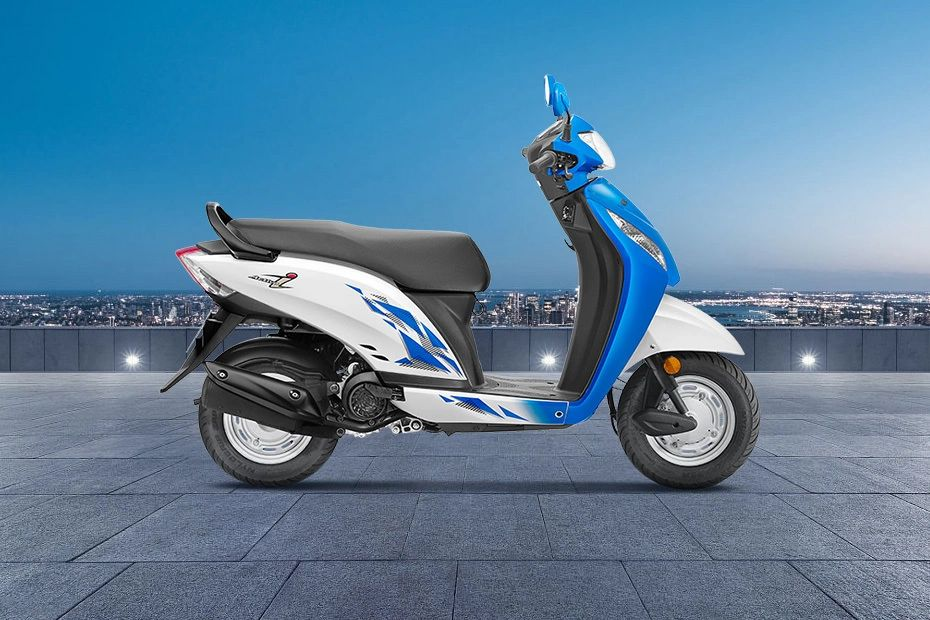 Right Side View of Activa i