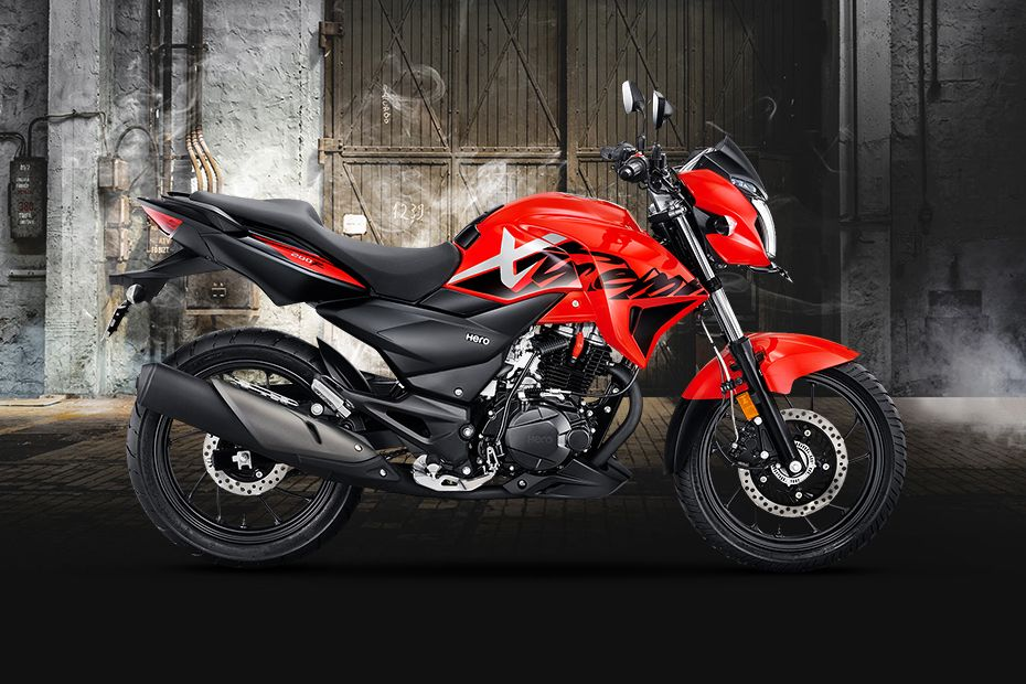 Right Side View of Xtreme 200R