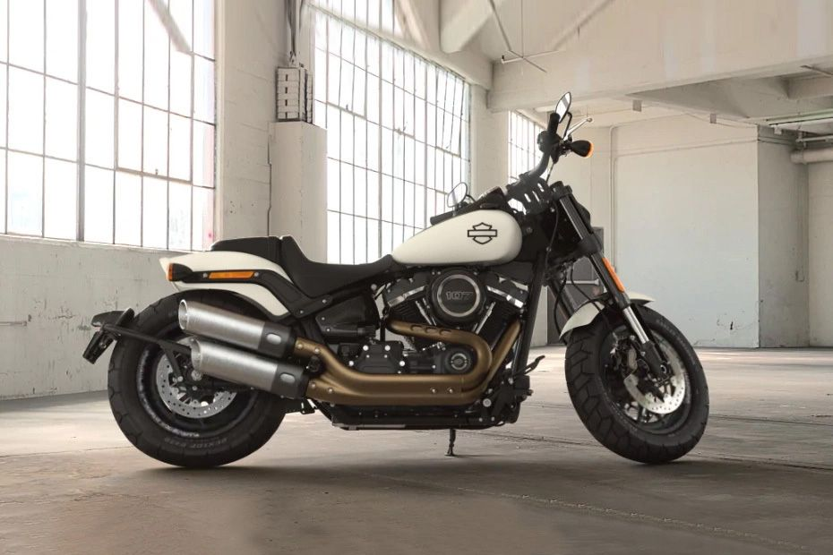 Right Side View of Fat Bob