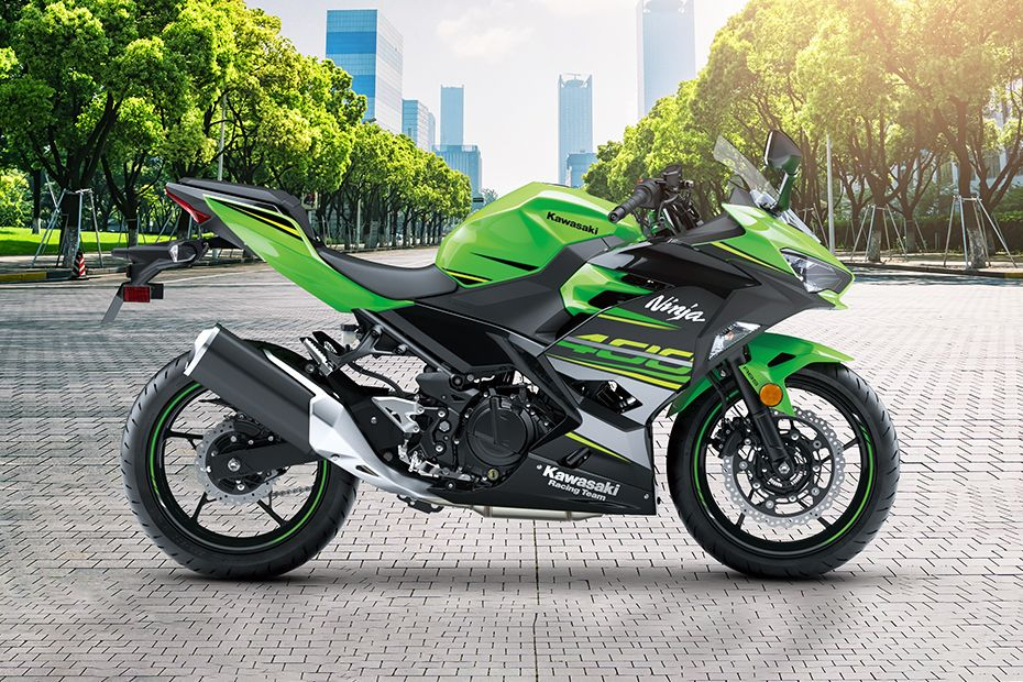 Right Side View of Ninja 400