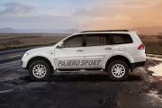 Side view Image of Pajero Sport