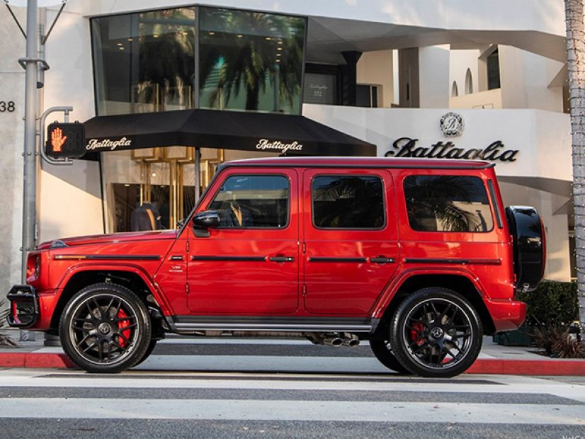Side view Image of G-Class