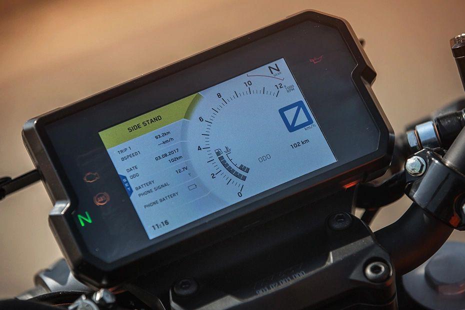 Speedometer of 390 Duke