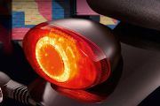 Tail Light of Street Twin