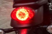Tail Light of Street Scrambler