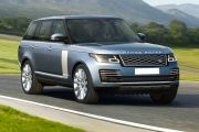 Top view Image of Range Rover