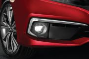 Fog lamp with control Image of Civic
