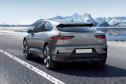 Rear 3/4 left Image of I-Pace