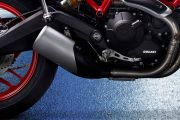 Exhaust View of Monster 797