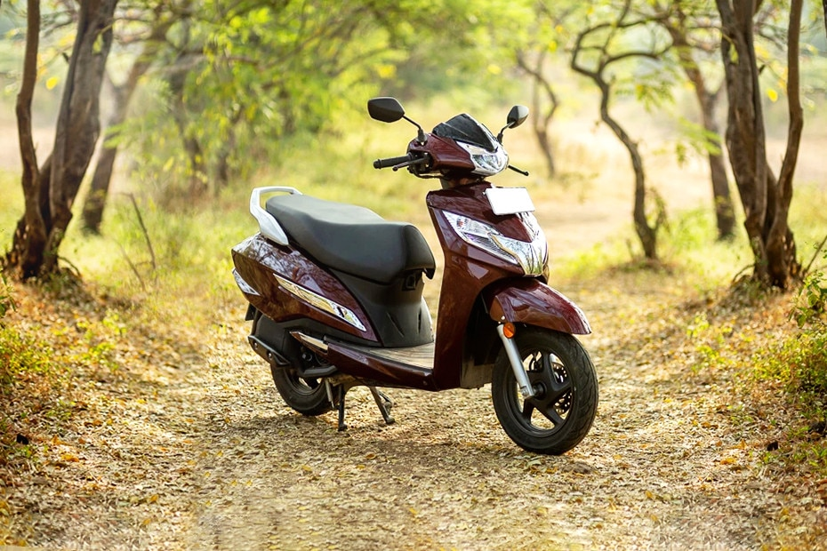Right Side View of 2019 Activa 125