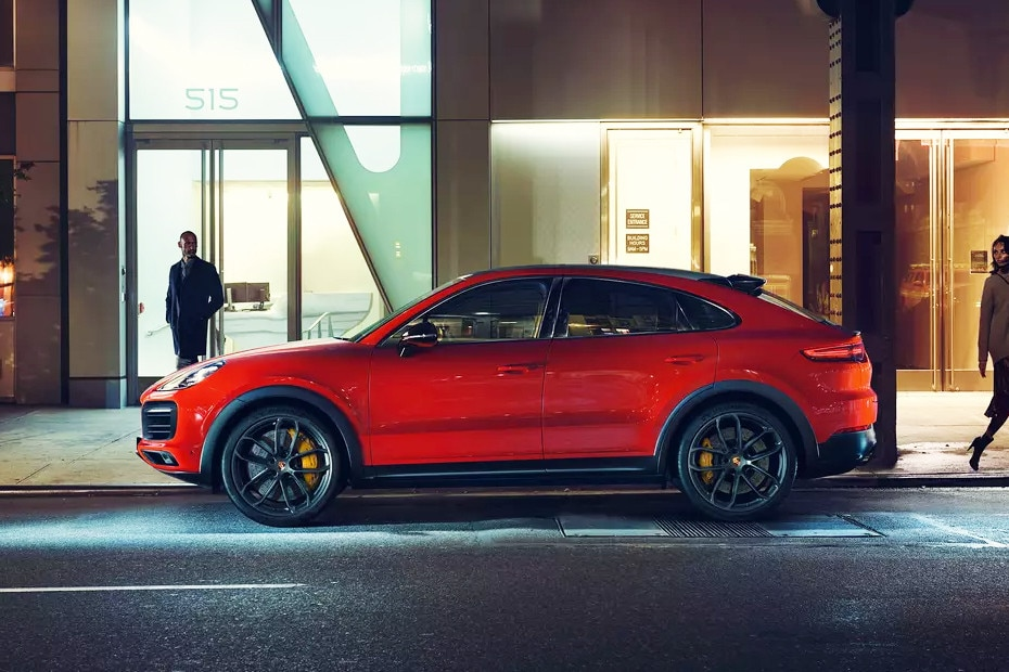 Side view Image of Cayenne Coupe