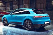 Rear 3/4 left Image of Macan