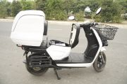 Right Side View of Spock Electric Scooter