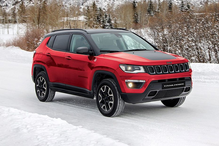 Front 1/4 left Image of Compass Trailhawk